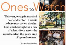 Watercolor Magic Magazine spotlights Susan Lucas