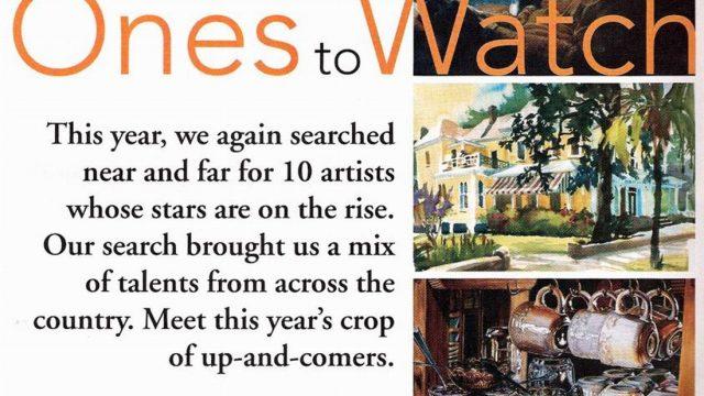 Watercolor Magic Magazine spotlights Susan Lucas