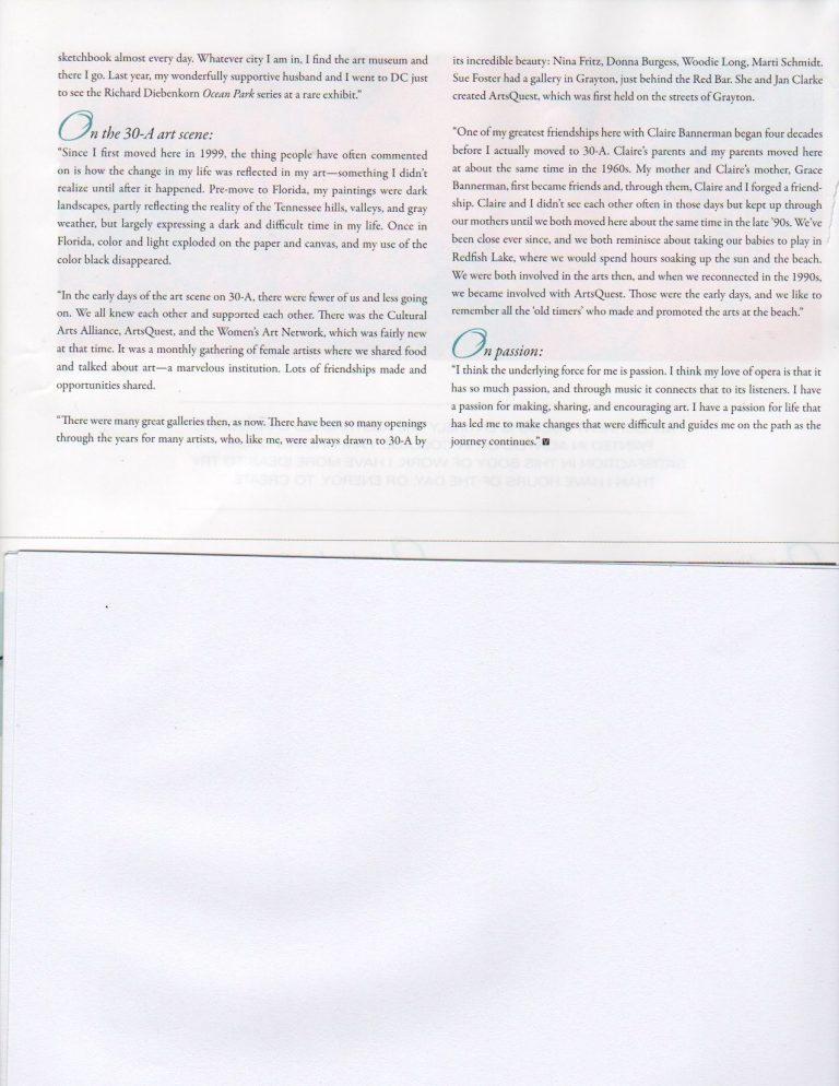Susan Featured in VIE Magazine - Nov./Dec. 2013 - Page 4